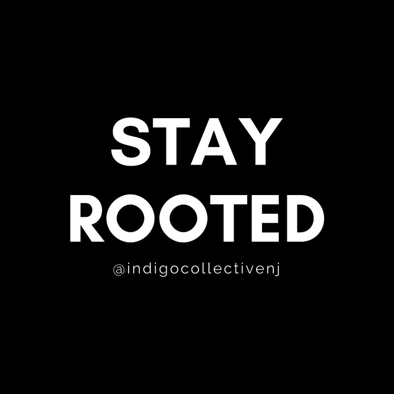 Stay Rooted Women's V-Neck by INDIGO COLLECTIVE