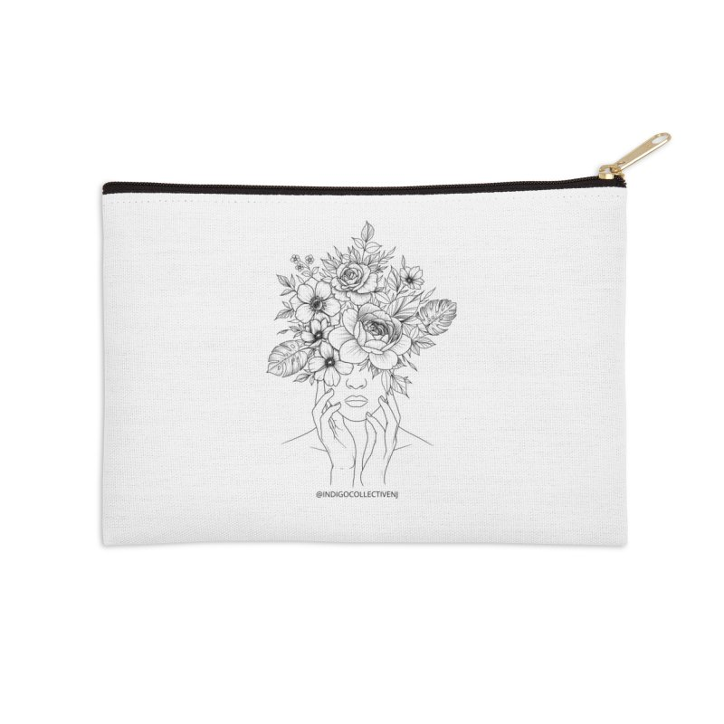 Nature Accessories Zip Pouch by INDIGO COLLECTIVE