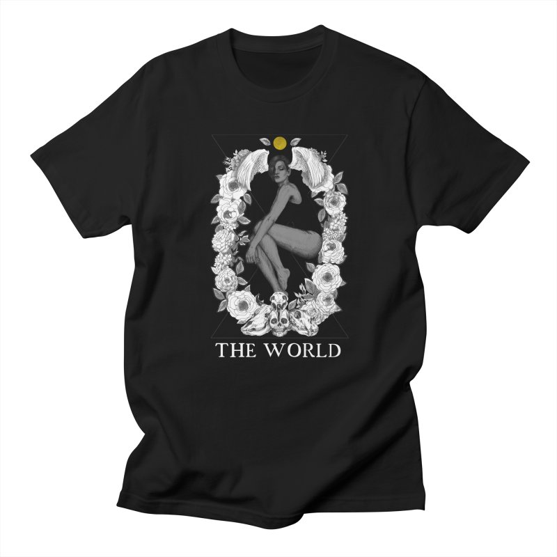 The World Men's T-Shirt by The Ink Maiden