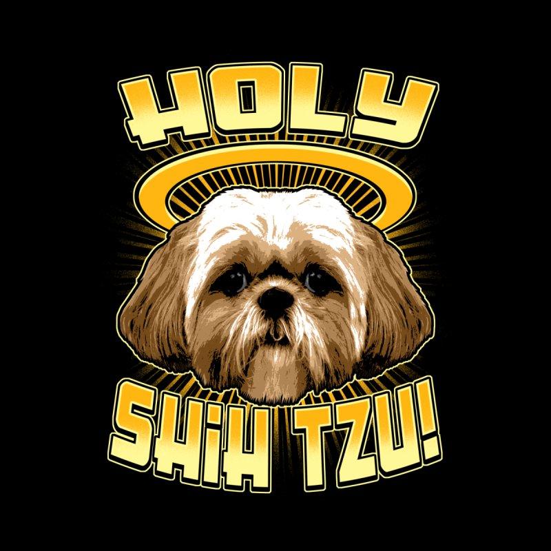 HOLY SHIH TZU! Kids Longsleeve T-Shirt by Inkdwell's Artist Shop