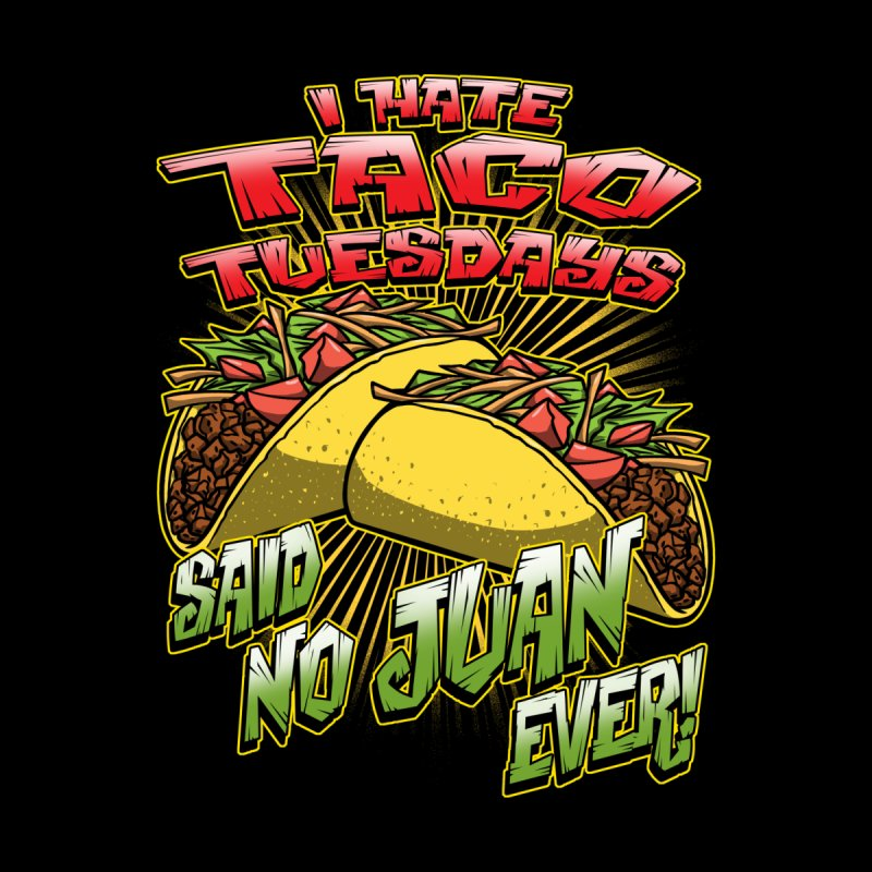 taco tuesday Men's V-Neck by Inkdwell's Artist Shop
