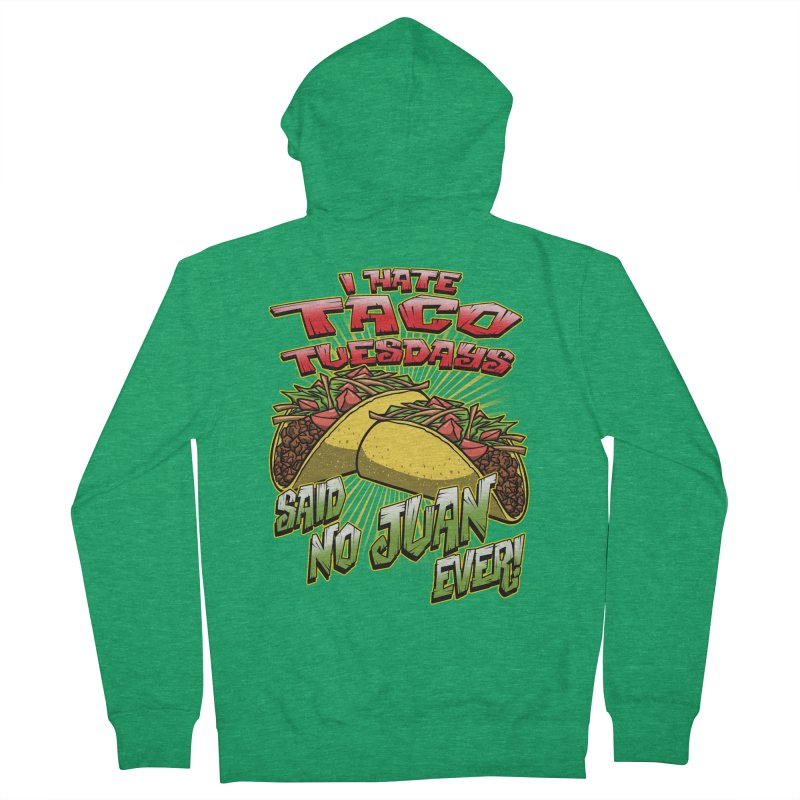 taco tuesday Women's Zip-Up Hoody by Inkdwell's Artist Shop