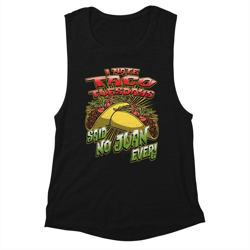 taco tuesday Women's Tank by Inkdwell's Artist Shop