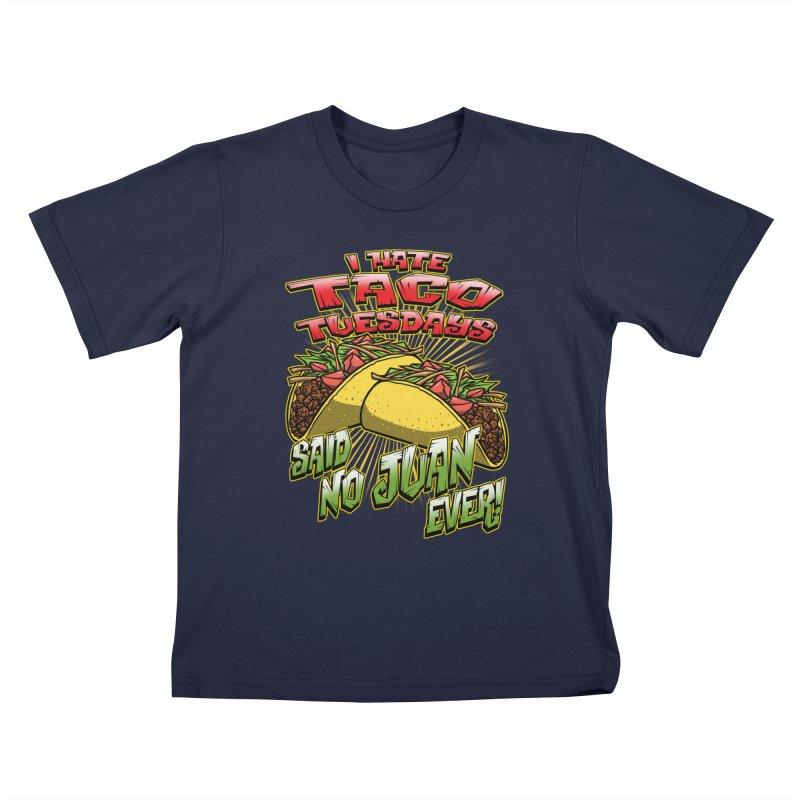 taco tuesday Kids T-Shirt by Inkdwell's Artist Shop