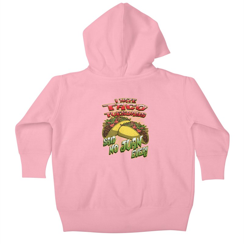 taco tuesday Kids Baby Zip-Up Hoody by Inkdwell's Artist Shop