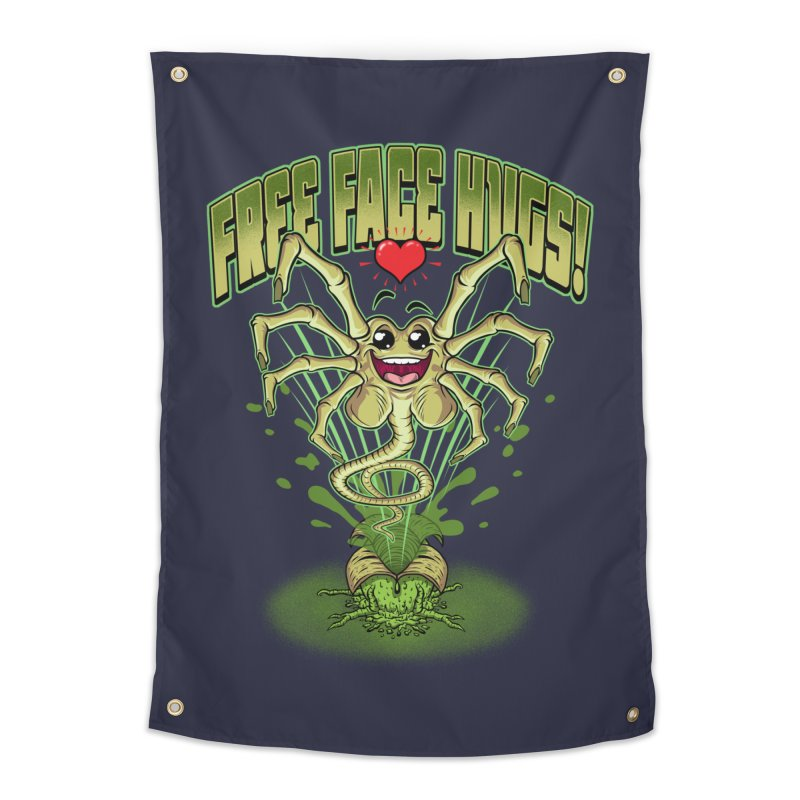 FREE FACE HUGS!    Home Tapestry by Inkdwell's Artist Shop