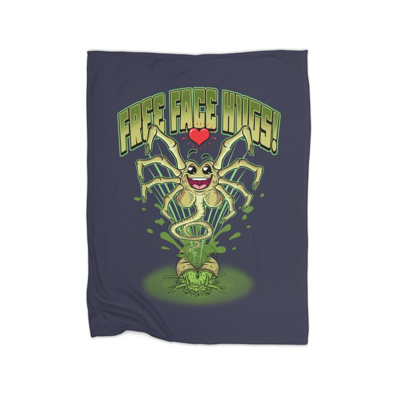 FREE FACE HUGS!    Home Blanket by Inkdwell's Artist Shop