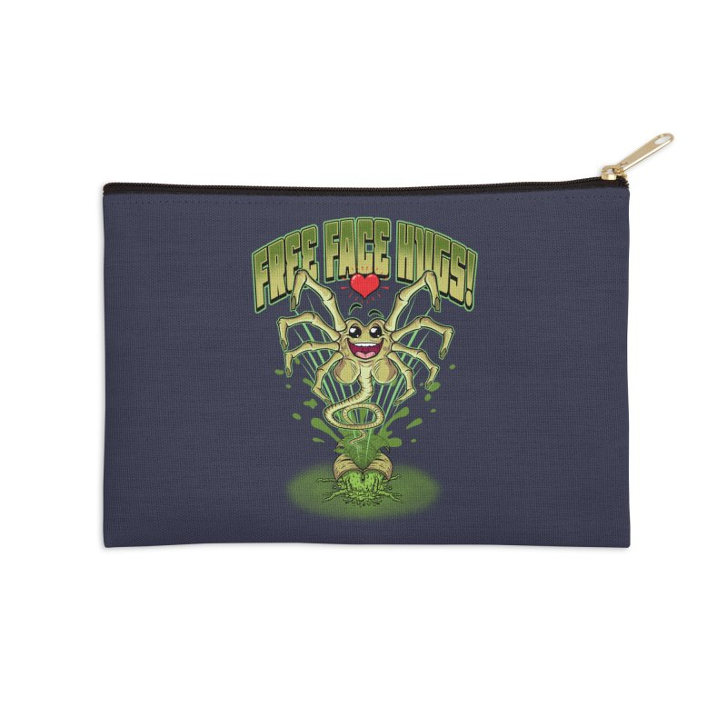FREE FACE HUGS!    Accessories Zip Pouch by Inkdwell's Artist Shop
