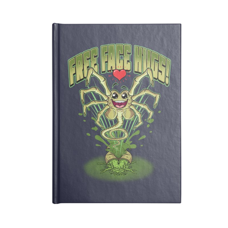 FREE FACE HUGS!    Accessories Notebook by Inkdwell's Artist Shop