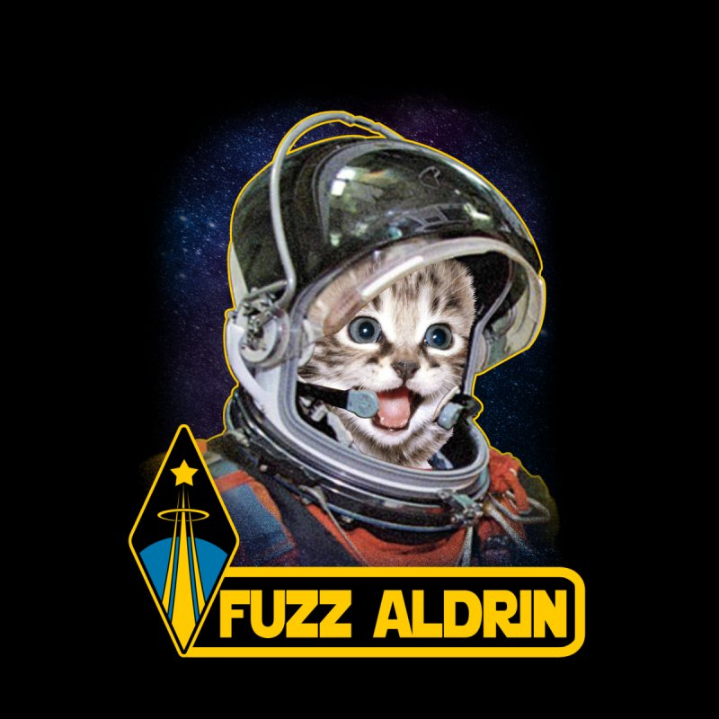 FUZZ ALDRIN Women's Sweatshirt by Inkdwell's Artist Shop