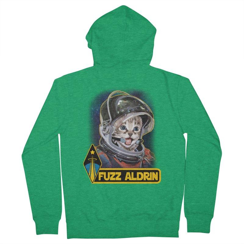 FUZZ ALDRIN Women's Zip-Up Hoody by Inkdwell's Artist Shop