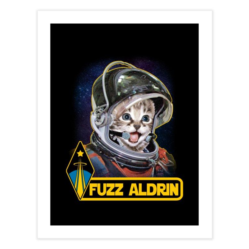 FUZZ ALDRIN Home Fine Art Print by Inkdwell's Artist Shop