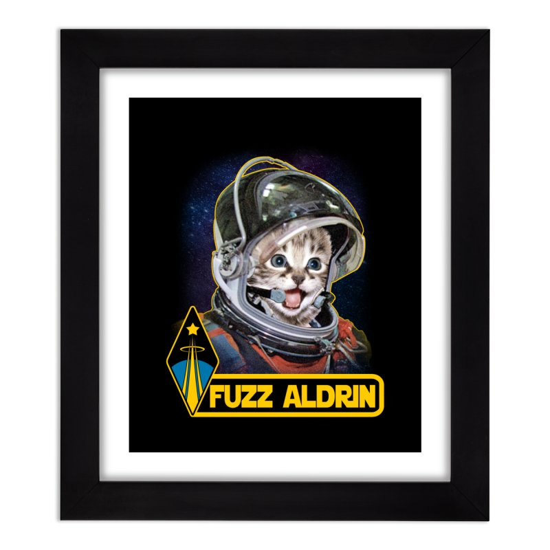 FUZZ ALDRIN Home Framed Fine Art Print by Inkdwell's Artist Shop