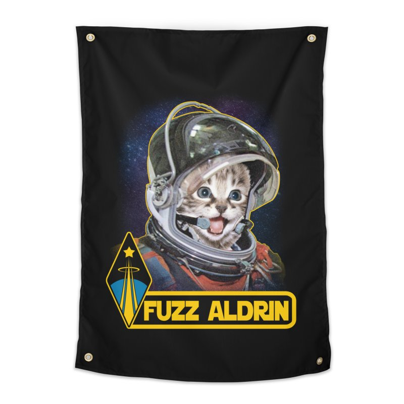 FUZZ ALDRIN Home Tapestry by Inkdwell's Artist Shop