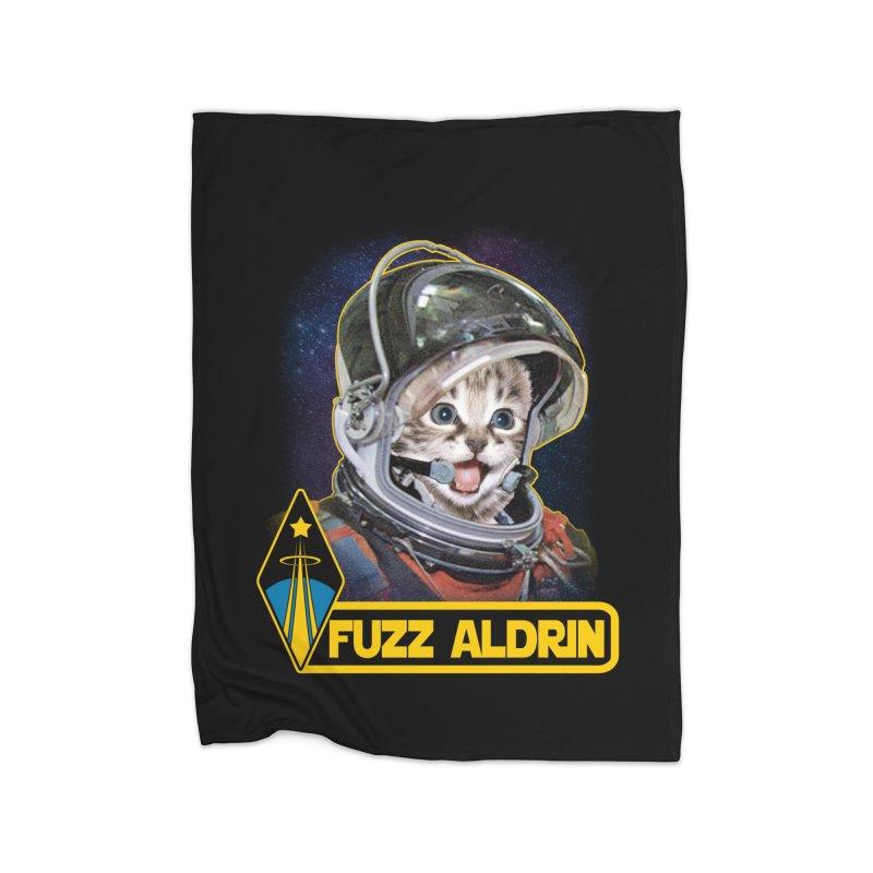 FUZZ ALDRIN Home Blanket by Inkdwell's Artist Shop