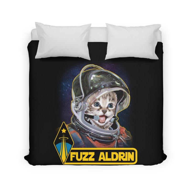 FUZZ ALDRIN Home Duvet by Inkdwell's Artist Shop