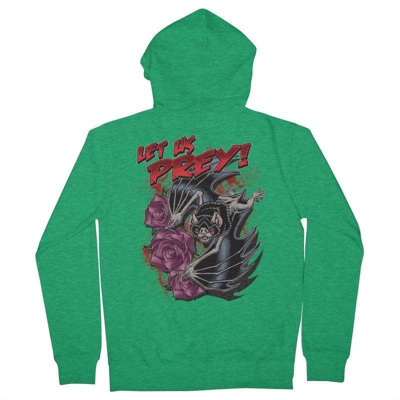 LET US PREY! Women's Zip-Up Hoody by Inkdwell's Artist Shop