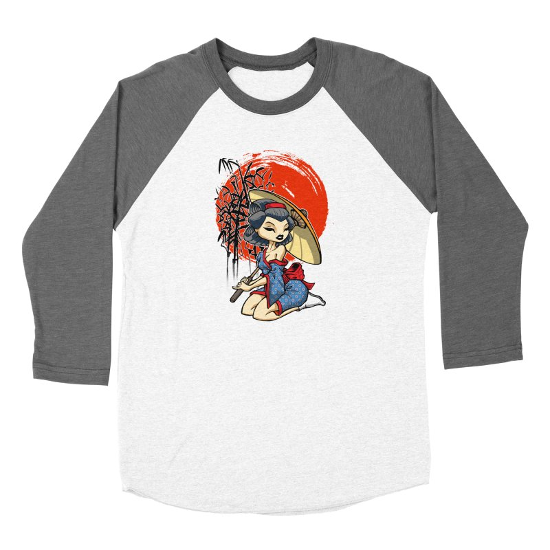 ASIAN GIRL Women's Longsleeve T-Shirt by Inkdwell's Artist Shop
