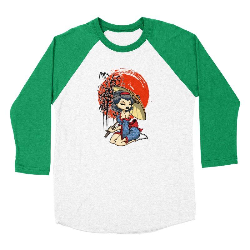 ASIAN GIRL Men's Longsleeve T-Shirt by Inkdwell's Artist Shop