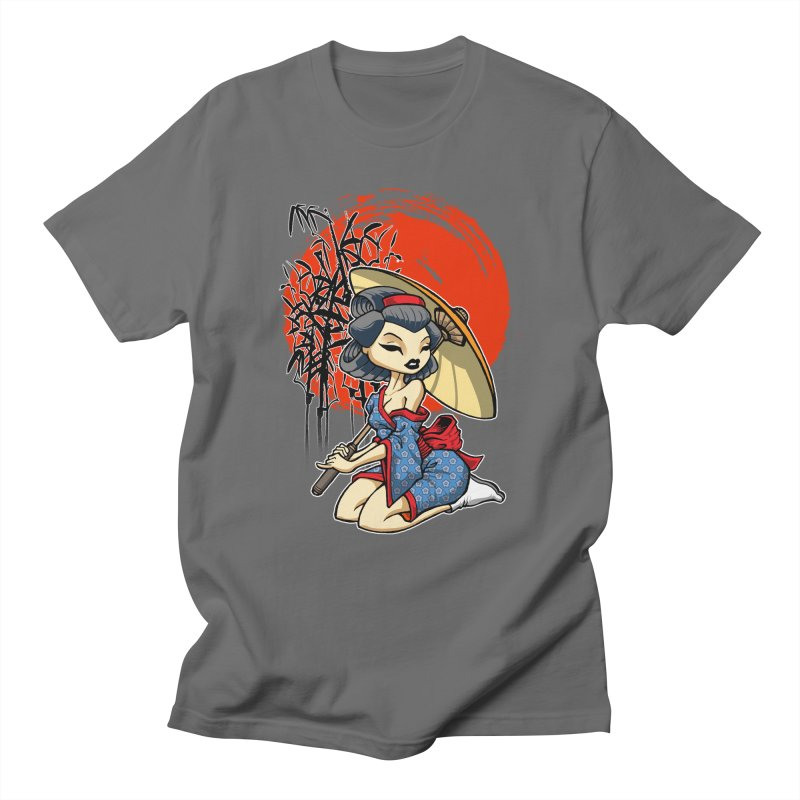 ASIAN GIRL Men's T-Shirt by Inkdwell's Artist Shop