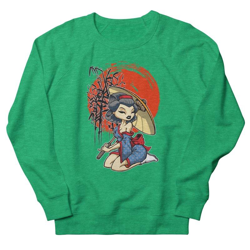 ASIAN GIRL Women's Sweatshirt by Inkdwell's Artist Shop