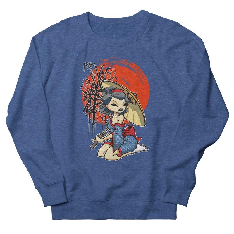 ASIAN GIRL Men's Sweatshirt by Inkdwell's Artist Shop