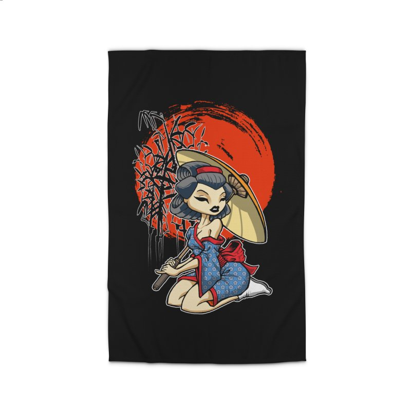 ASIAN GIRL Home Rug by Inkdwell's Artist Shop