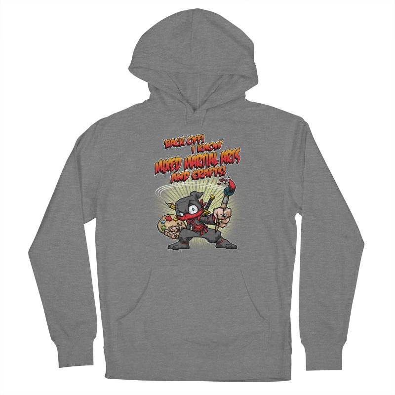 ARTS AND CRAFTS! Women's Pullover Hoody by Inkdwell's Artist Shop
