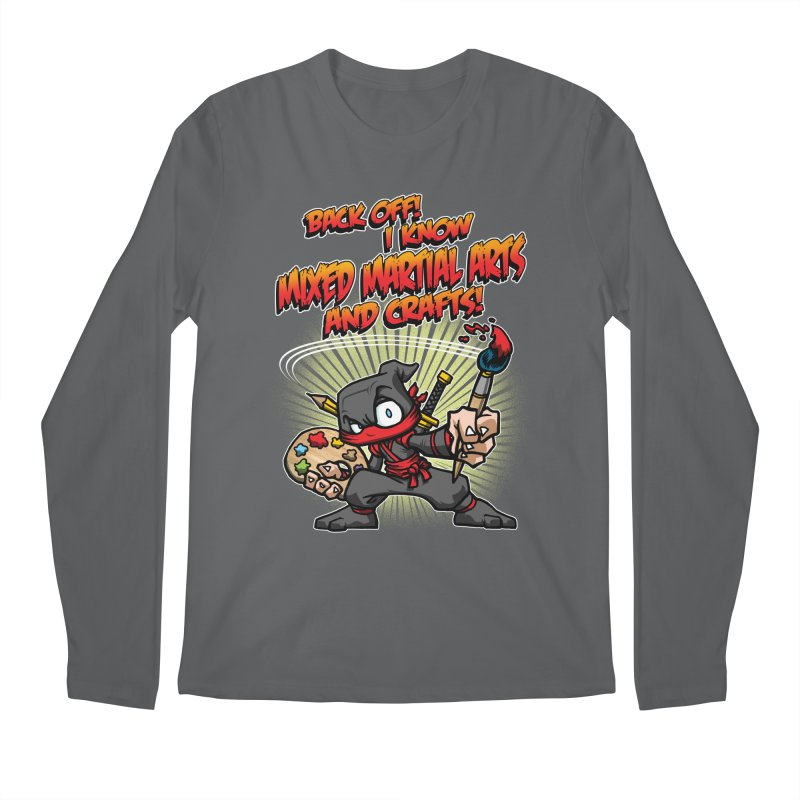 ARTS AND CRAFTS! Men's Longsleeve T-Shirt by Inkdwell's Artist Shop