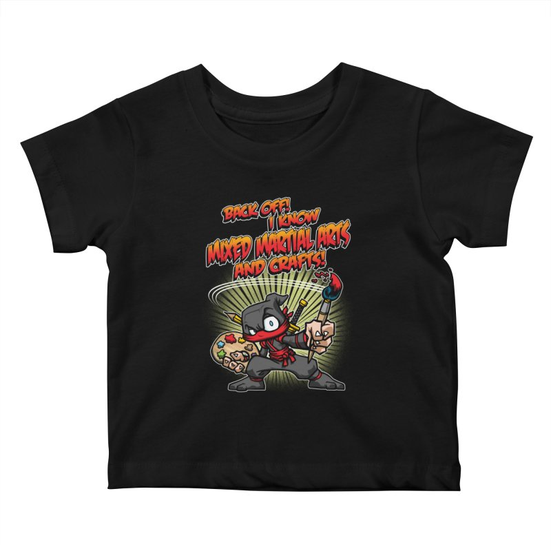 ARTS AND CRAFTS! Kids Baby T-Shirt by Inkdwell's Artist Shop