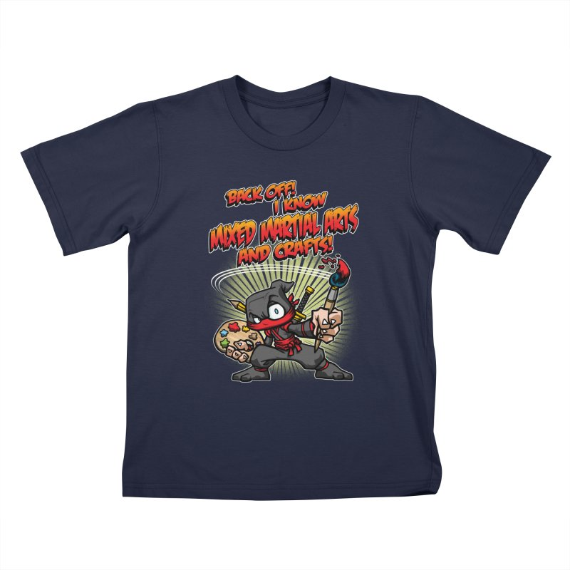 ARTS AND CRAFTS! Kids T-Shirt by Inkdwell's Artist Shop