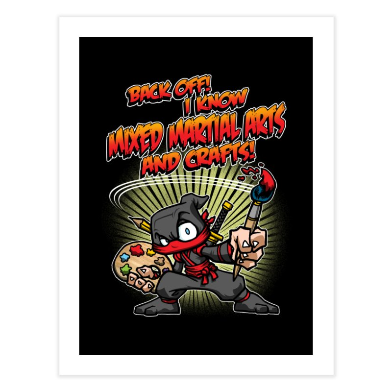ARTS AND CRAFTS! Home Fine Art Print by Inkdwell's Artist Shop