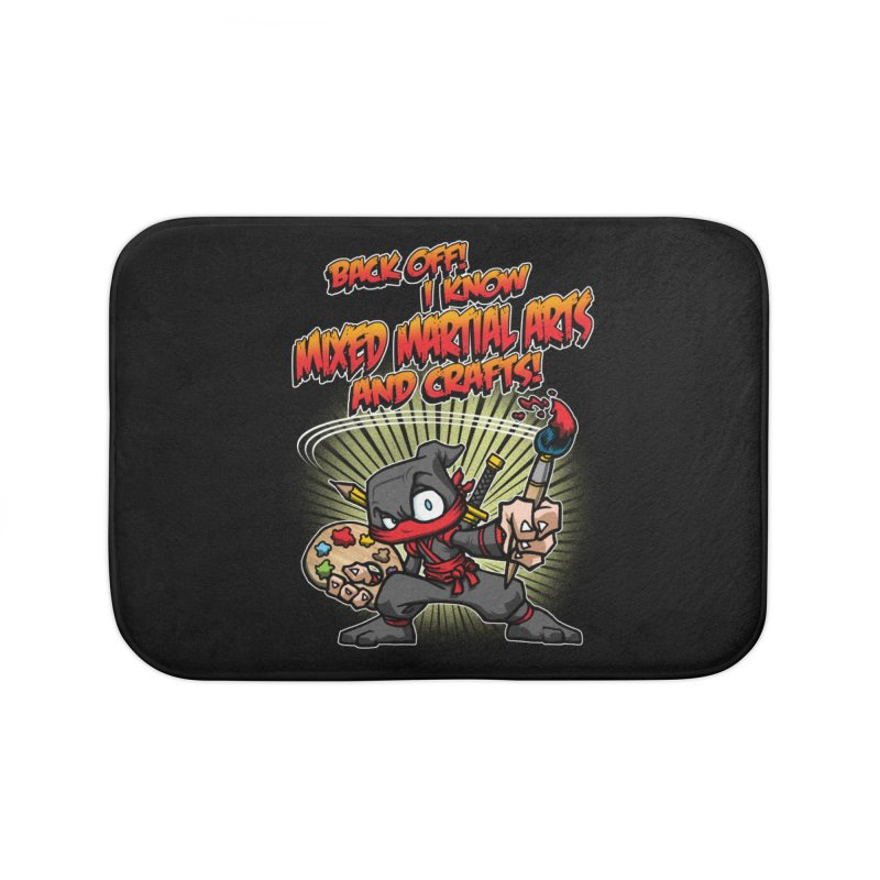 ARTS AND CRAFTS! Home Bath Mat by Inkdwell's Artist Shop