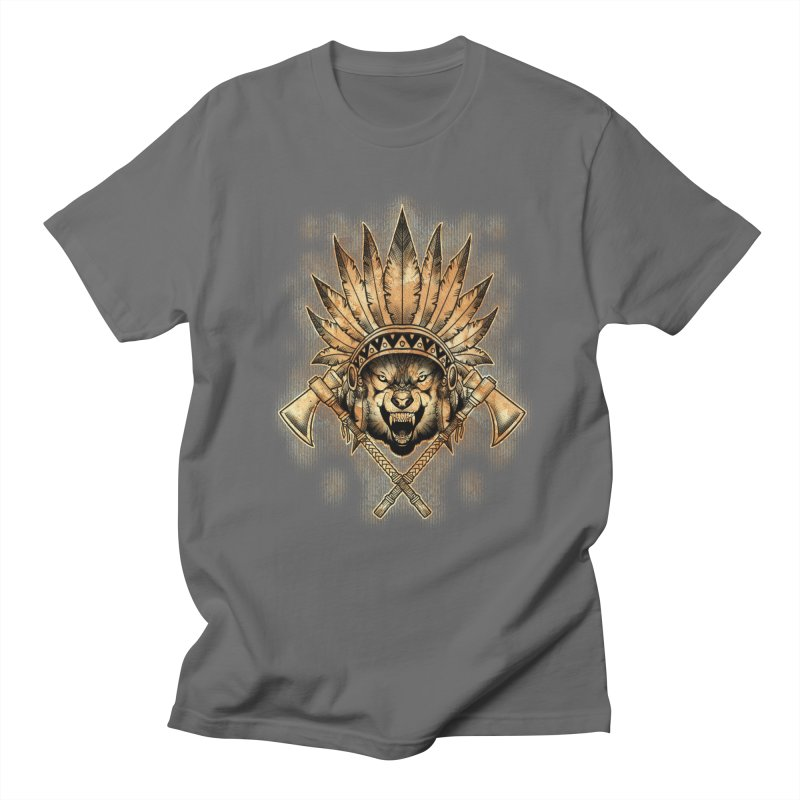 CHIEF WOLF Women's T-Shirt by Inkdwell's Artist Shop