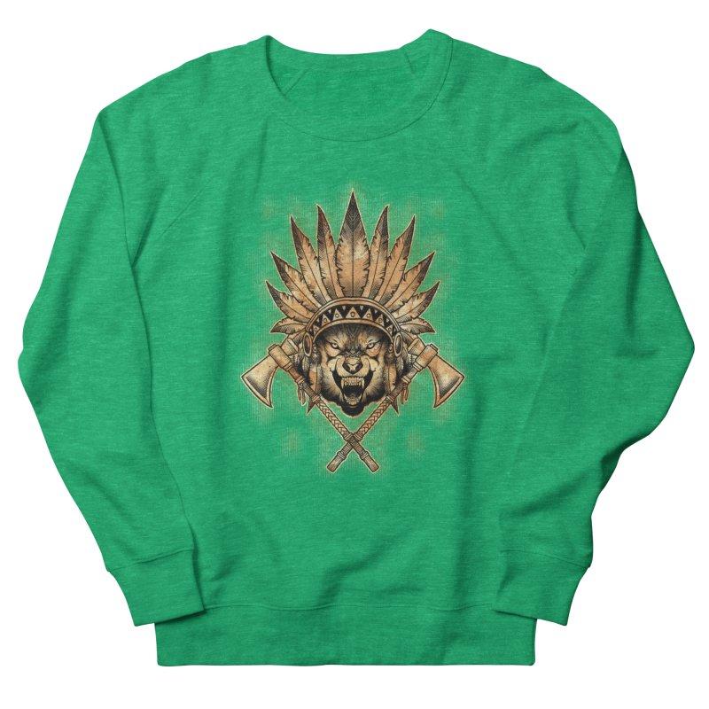 CHIEF WOLF Women's Sweatshirt by Inkdwell's Artist Shop