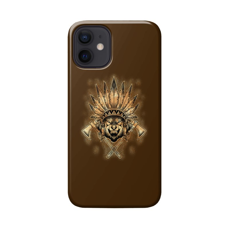 CHIEF WOLF Accessories Phone Case by Inkdwell's Artist Shop