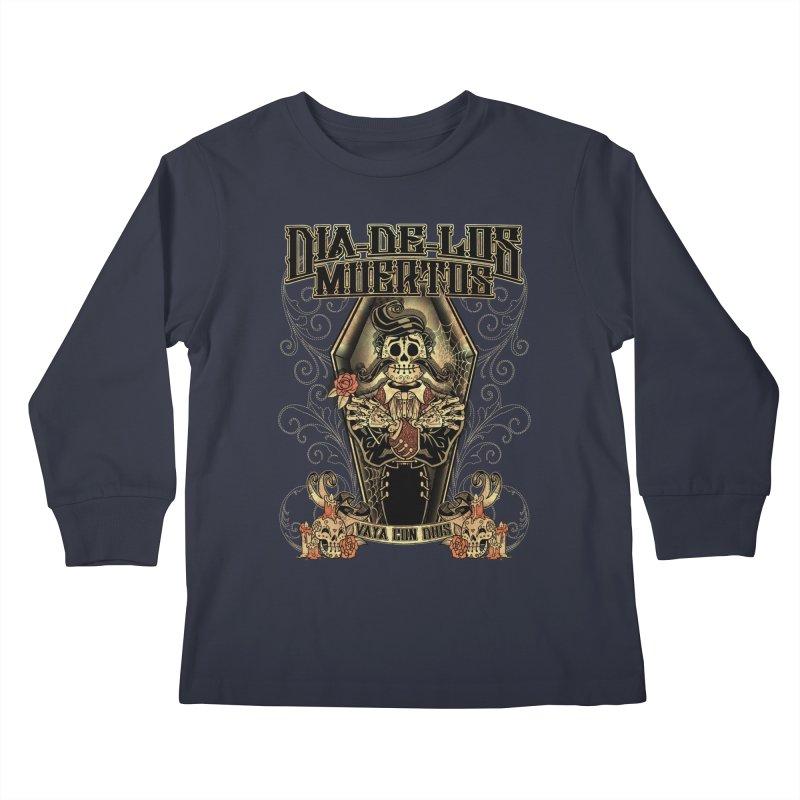 DEAD DAY Kids Longsleeve T-Shirt by Inkdwell's Artist Shop