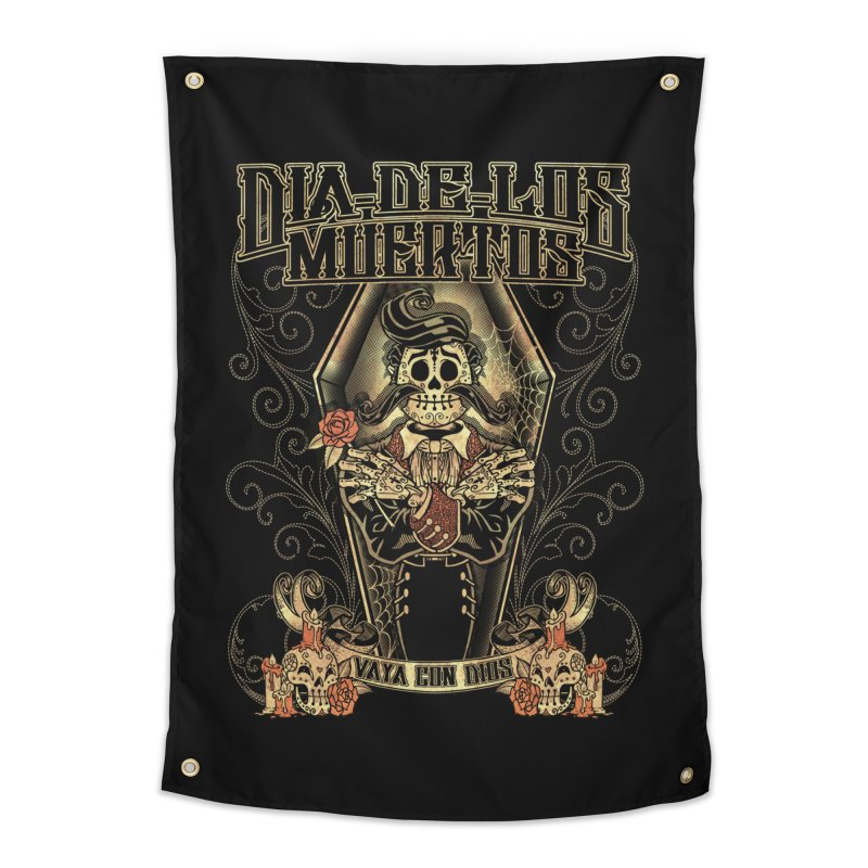 DEAD DAY Home Tapestry by Inkdwell's Artist Shop