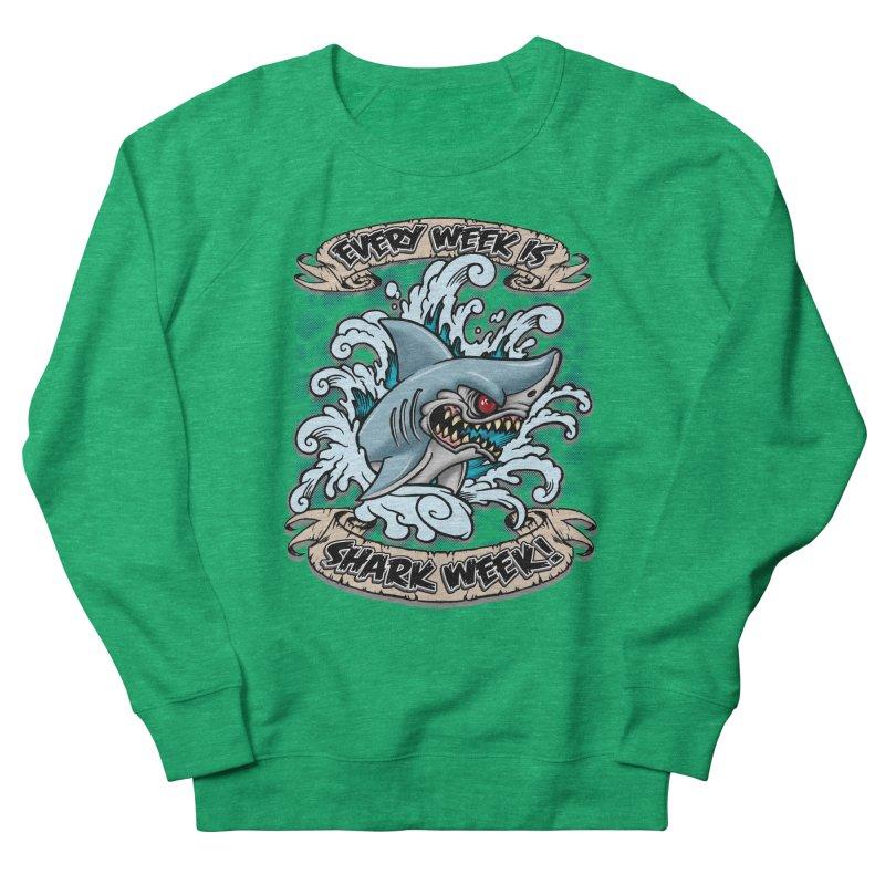 SHARK WEEK! Women's Sweatshirt by Inkdwell's Artist Shop
