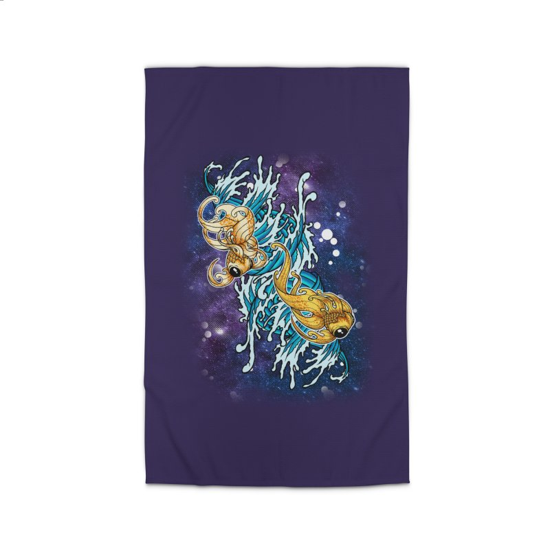 SPACE FISH Home Rug by Inkdwell's Artist Shop