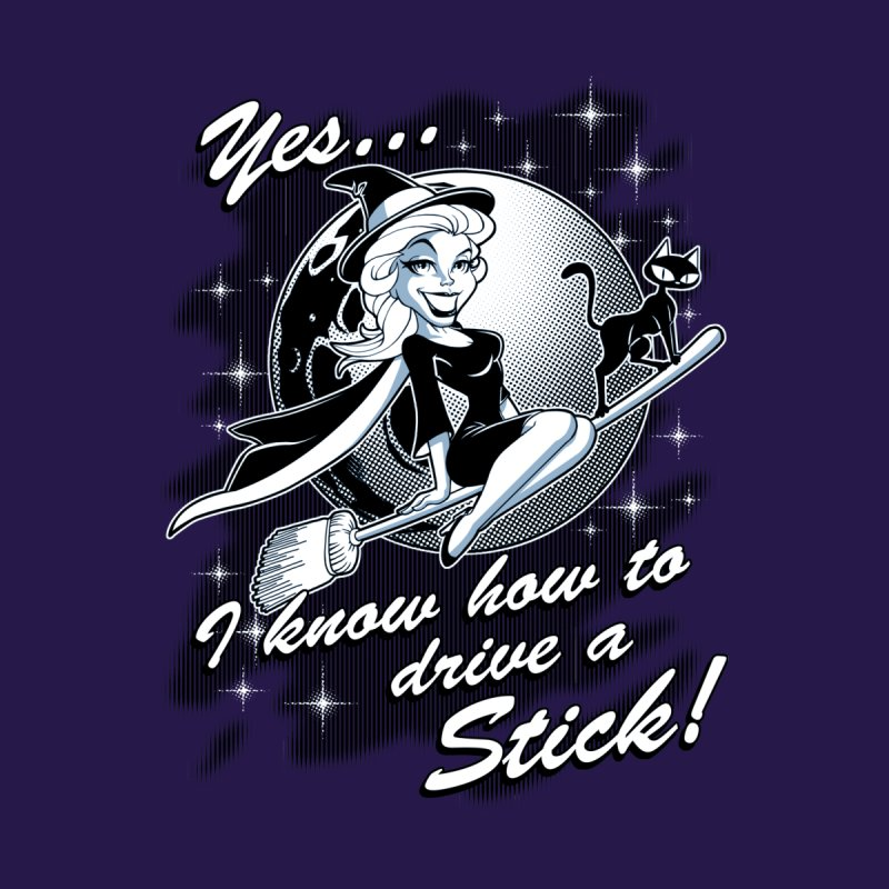 WITCH STICK Women's T-Shirt by Inkdwell's Artist Shop