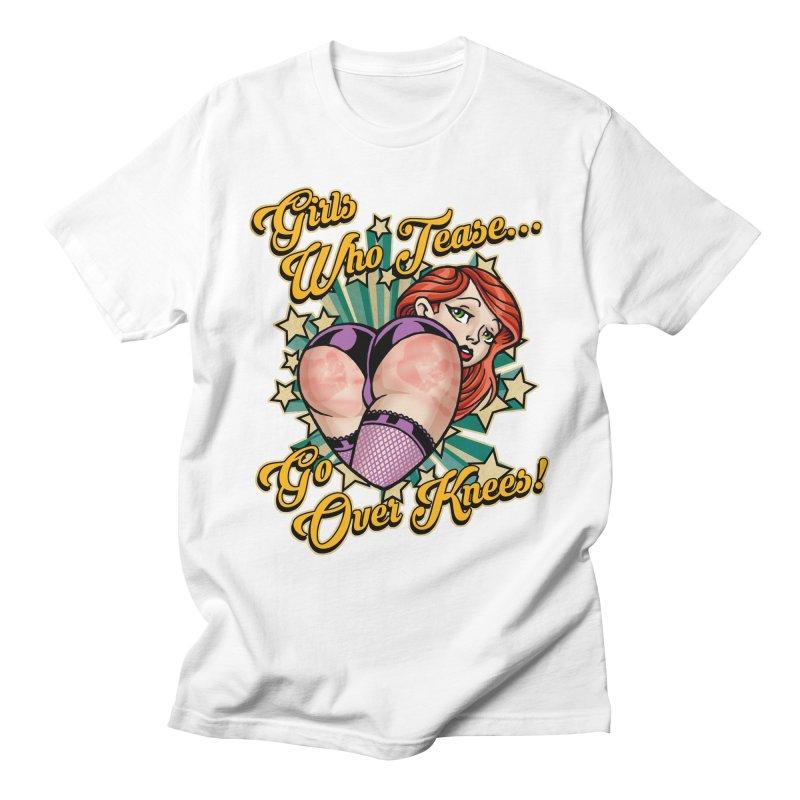 TEASE Men's T-Shirt by Inkdwell's Artist Shop