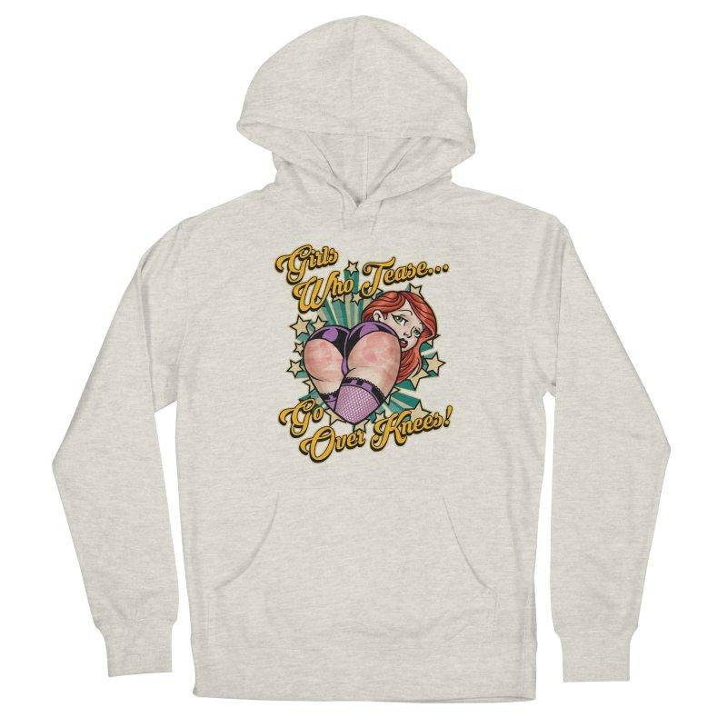 TEASE Women's Pullover Hoody by Inkdwell's Artist Shop