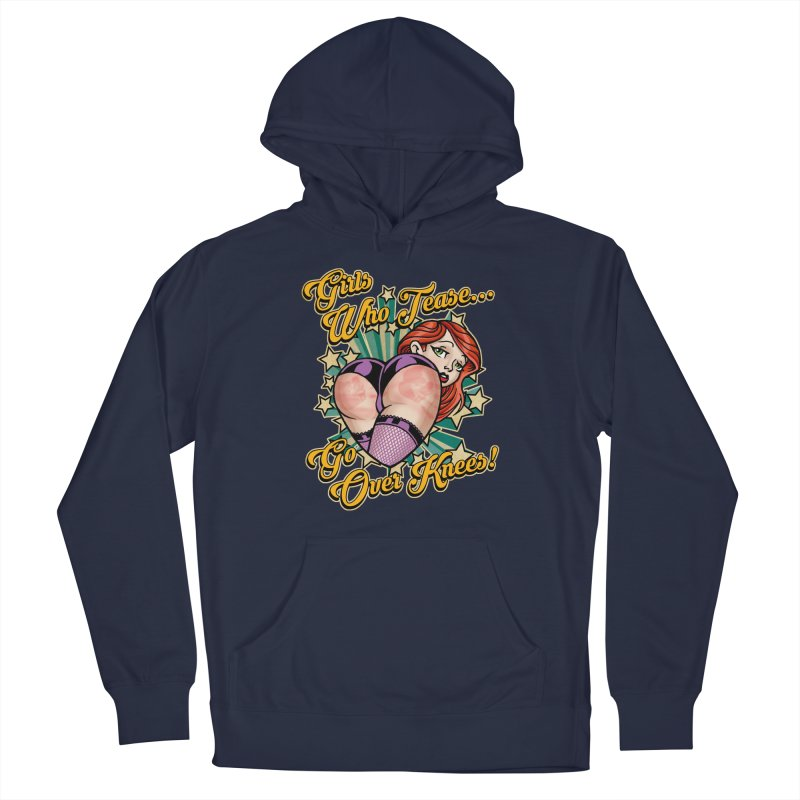 TEASE Men's Pullover Hoody by Inkdwell's Artist Shop