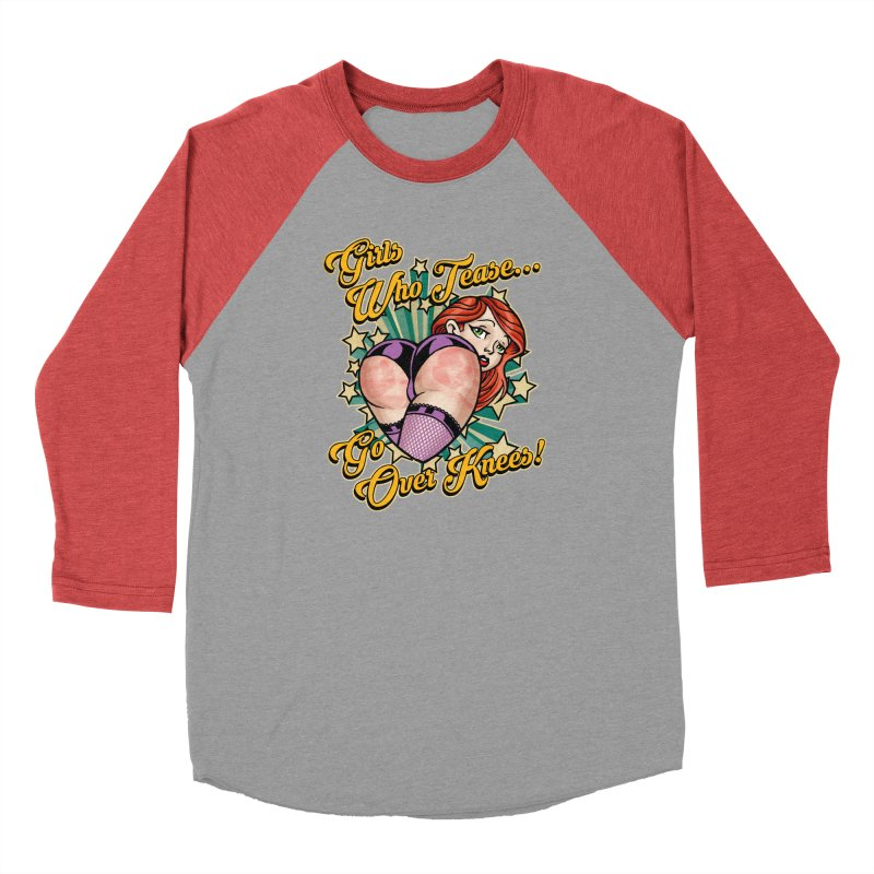 TEASE Women's Longsleeve T-Shirt by Inkdwell's Artist Shop