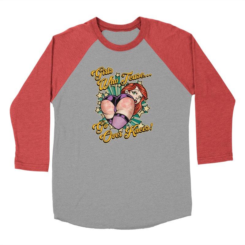TEASE Men's Longsleeve T-Shirt by Inkdwell's Artist Shop
