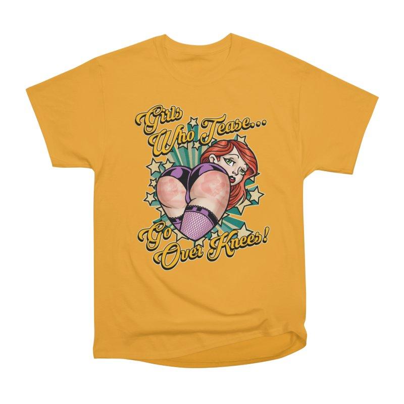 TEASE Men's Heavyweight T-Shirt by Inkdwell's Artist Shop