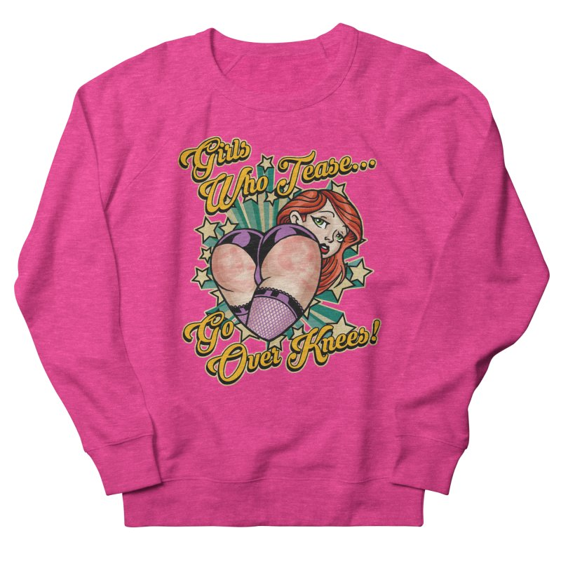 TEASE Men's Sweatshirt by Inkdwell's Artist Shop