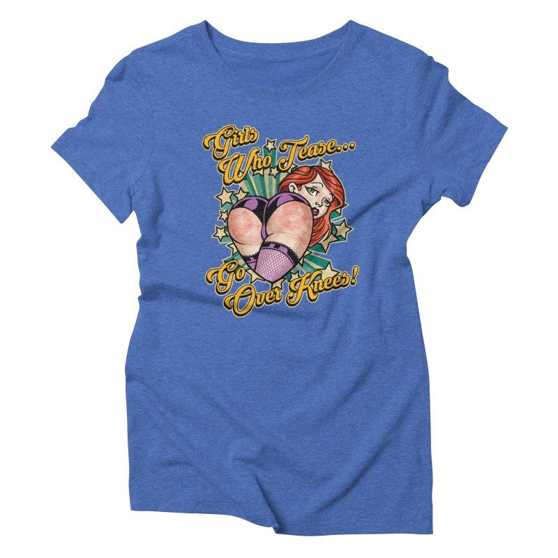 TEASE Women's T-Shirt by Inkdwell's Artist Shop