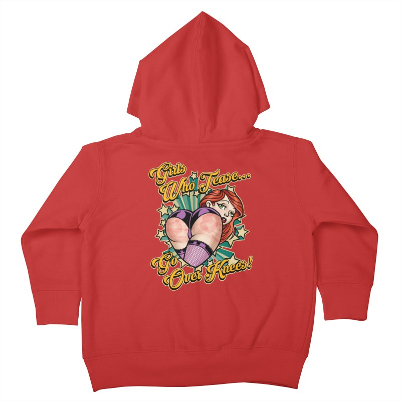 TEASE Kids Toddler Zip-Up Hoody by Inkdwell's Artist Shop